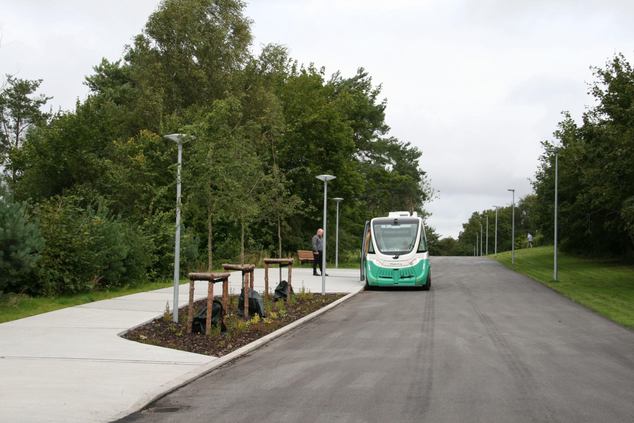 Førerløse busser skal skabe social bæredygtighed i Aalborg Øst