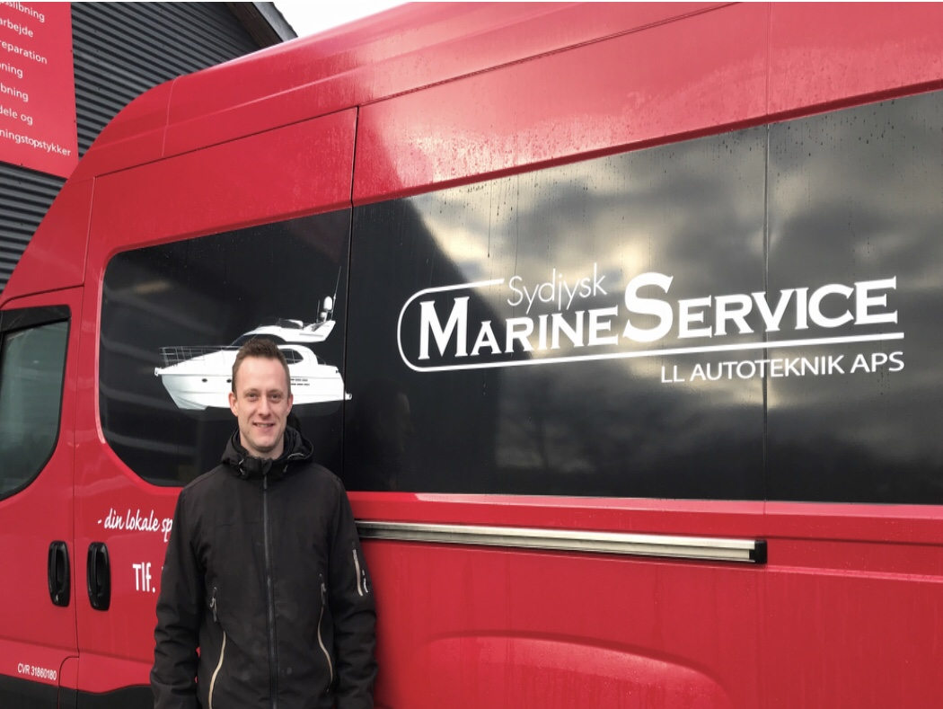 Aabenraa – Erhverv: Ny marine-service netop åbnet